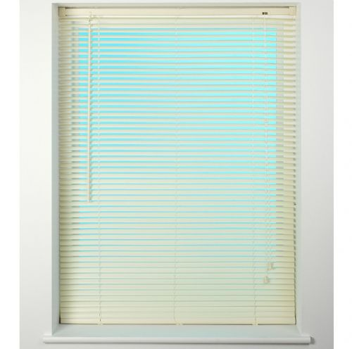 Universal 25mm PVC Venetian Blind - Cream